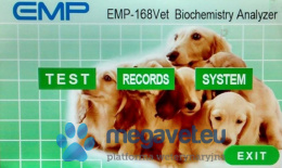 BIOCHEMICAL ANALYZER EMP 168 VET (MEO)