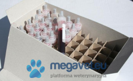 Cartons with compartments for tubes or syringe tubes (for 50 pcs.) [BSO]