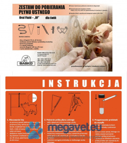 """OF"" oral fluid collection kit in pigs [BSO]"